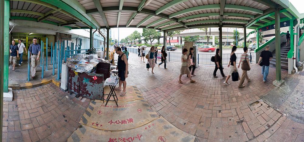 牛頭角下邨 around 8:30am, 2008-09-11, Block 13