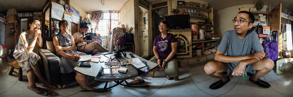Eye to eye documentary photography project participant 張寶麗