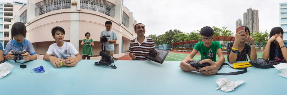 Eye to eye photography participant 新來港學童